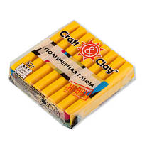 Полимерная глина Craft&Clay Крафт энд Клей 52 г,цвет желтый 1006