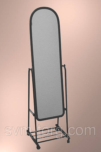 Зеркало в пластике (узкое)