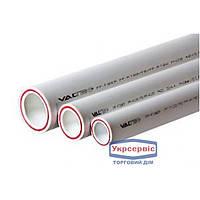Труба ПП VALTEC 20*2,8 PP-FIBER PN20, горячая вода, белая (4м)