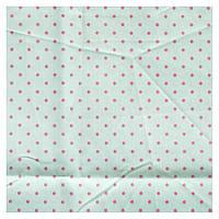 Ткань минт 50х50 см горшек розовый средний