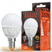 Светодиодная лампа Tecro LED G45 5W 3000K E14 (PRO-G45-5W-3K-E14)