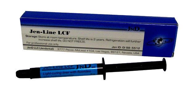 Джен-Лайн ЛСФ ( JEN-LINE LCF ), шприц 3г, фотополимерный прокладочный материал - Моряк Дентал Медікал в Львовской области