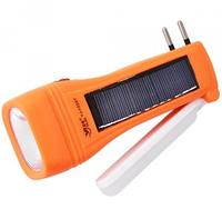 Фонарь YAJIA 1028T, 1W+9SMD, солн. батарея