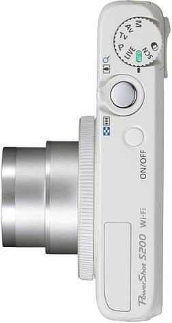 Фотоаппарат Canon PowerShot S200 IS White, фото 2