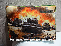 Подушка World of tanks  45*32*8см.