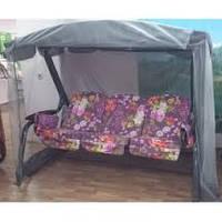 Качели садовые «Мастак-Премиум» с мебельной тканью с676