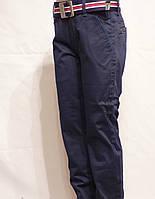 Котоновые брюки Для мальчика темно-синие Польша 14 лет Xu. Wear. , фото 1