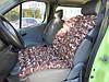 Автомобильное сидение из гречневой лузги