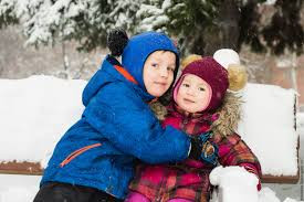 Детские зимнее шапки