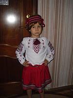 Детский нарядный Украинский костюм  - прокат Киев, Троещина