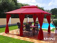 Павильон садовый Swing & Harmony 3x4 м. красный