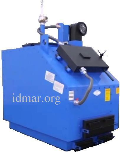 Идмар-котел утилизатор на твердом топливе 250 Квт KW-GSN