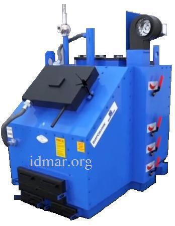 Твердотопливные котлы 500 кВт. Идмар KW-GSN (c принудительной подачей воздуха и авторегулировкой)