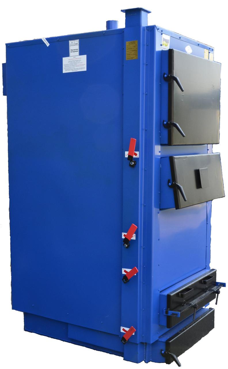 Твердотопливный котел длительного горения 90 кВт Идмар GK-1
