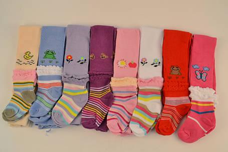 Колготки детские с рюшами на ножке (R551) | 12 шт., фото 2