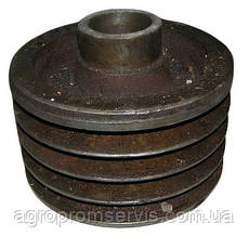 Шкив привода молотилки комбайна СК-5 НИВА 54-10152 (4-х ручейный), фото 3