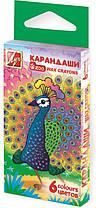 "Набор восковых карандашей ""Zoo"" (Мини), 6 цветов, ПК ХЗ ""Луч"""