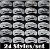 Набор многоразовых трафаретов формы бровей, 24 формы!!!