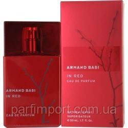 Armand Basi in Red EDP 50 ml Парфюмированная вода (оригинал подлинник  Испания)