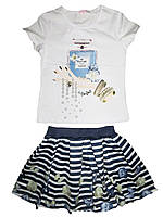 Комплект-двойка для девочки,Emma girl, размеры 4,8 лет, арт. 7785
