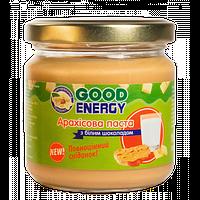 Арахисовая паста Good Energy с белым шоколадом (180 g)
