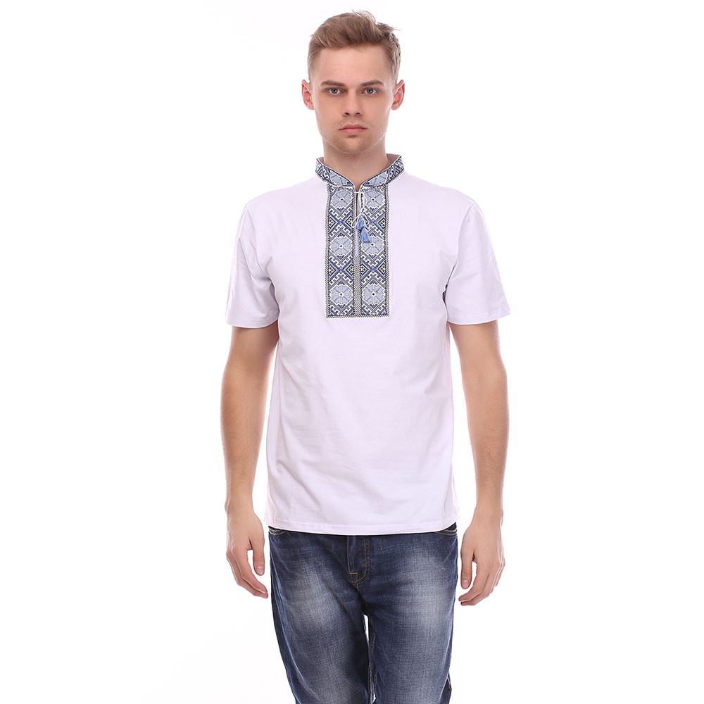 Чоловіча футболка з вишивкою