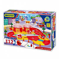 Игровой набор Wader Kid Cars Пожарная команда 53310