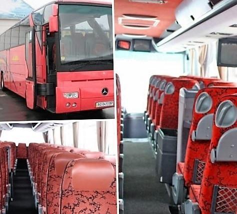 Автобус до Кракова (Польша ), 50 мест, 6 часов в дороге, 400 евро за поездку в одну строну, комфортно, безопасно.