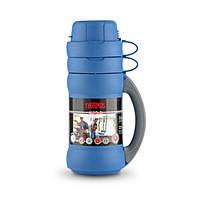 Термос Thermos 34-100 Premier 1 л синий/черный