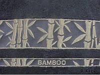 Махровая простынь Arya Elanor 200х220 темно-серая