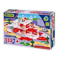 Игровой набор Wader Kid Cars Больница 53330