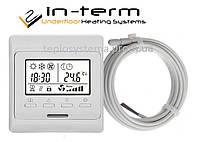 Программируемый терморегулятор для теплого пола  In-Term E51 (RTC 80)