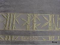 Бамбуковая махровая простыня Arya Elanor 200х220 светло-серая