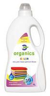 Гель для стирки цветных вещей с пробиотиком. Organics Color.