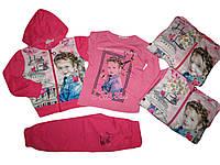 Трикотажный костюм-тройка для девочек, Crossfire, размеры 104,110, арт. CF 1086