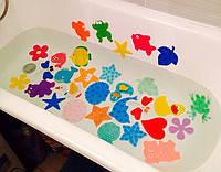 Мини коврики и игрушки для ванной
