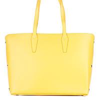 Женская кожаная сумка 1853 желтого цвета Италия