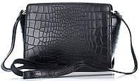 Женский кожаный клатч 12866 черного цвета