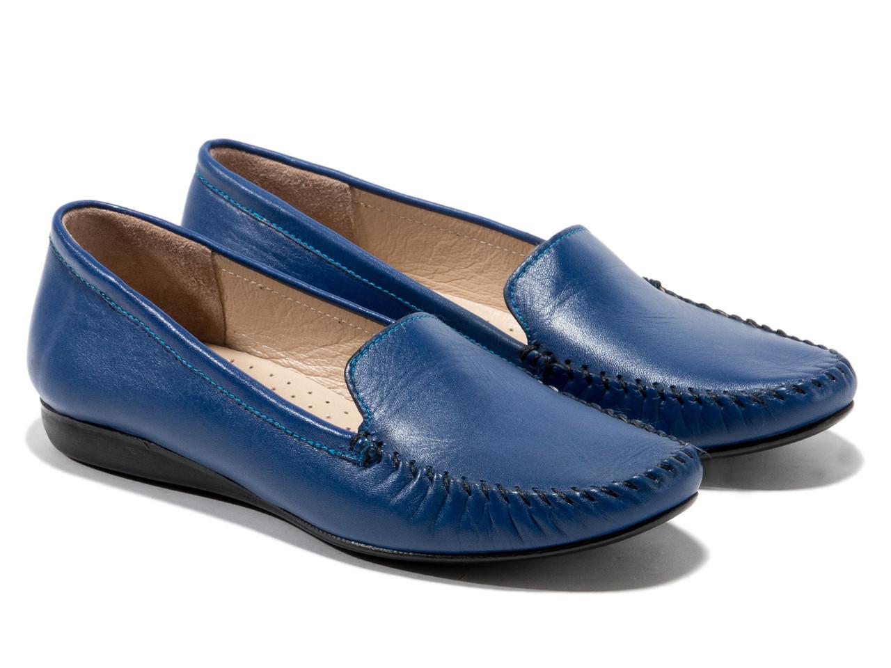 Мокасины Etor 2618-3010-14753 40 синие