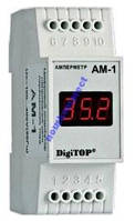 Амперметр АМ-1 DIN перем ток, однофазный