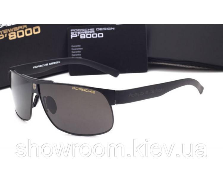 Солнцезащитные очки в стиле Porsche Design  (p-8535) black