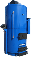 Парогенератор промышленный на твердом топливе Идмар SB 350 кВт, 500 кг/час