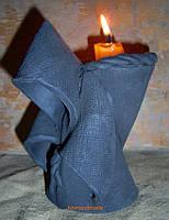 Підсвічник - монах ручної ліпнини