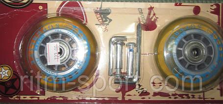 Колеса для скейтборда (2шт) RipStik  (PU, размер 76мм), фото 2