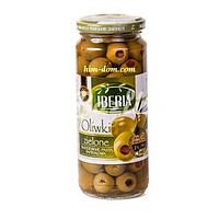 Оливки зеленые маринованные Iberia без косточки 340г