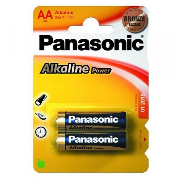 Батарейка PANASONIC LR6 Alkaline Power 1x2