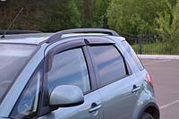 Дефлекторы окон (ветровики) на Сузуки SX-4 с 2013> 5-дверей (клеющие).