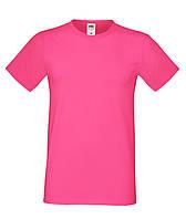 Модная молодежная летняя футболка малинового цвета