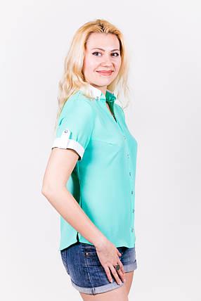 Блузка 209 мята размер 42, фото 2