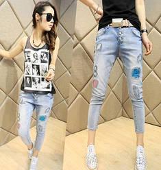 Женская джинсовая одежда